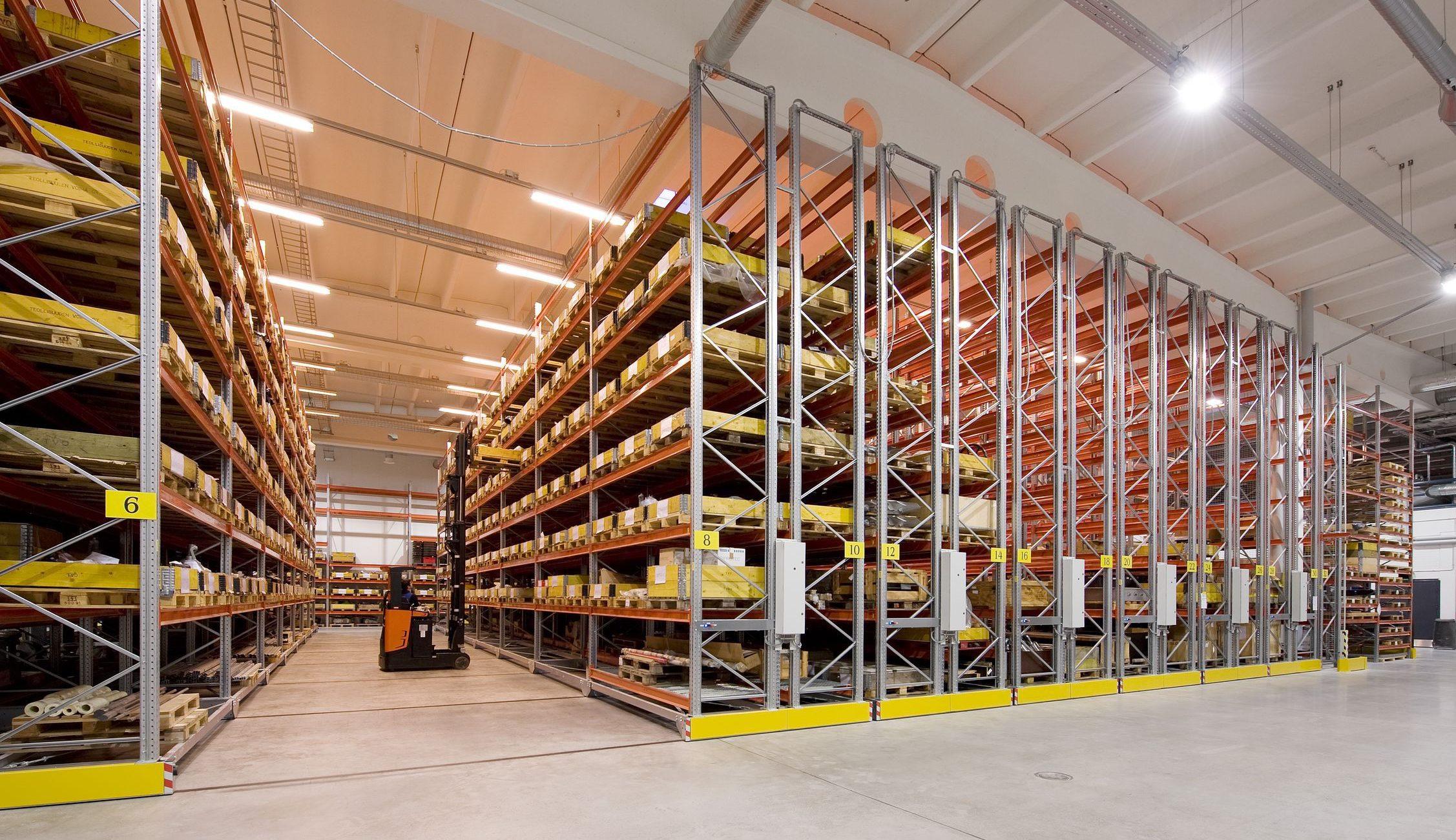 Tárolási technológiák 6. – Gördíthető állványos tárolás