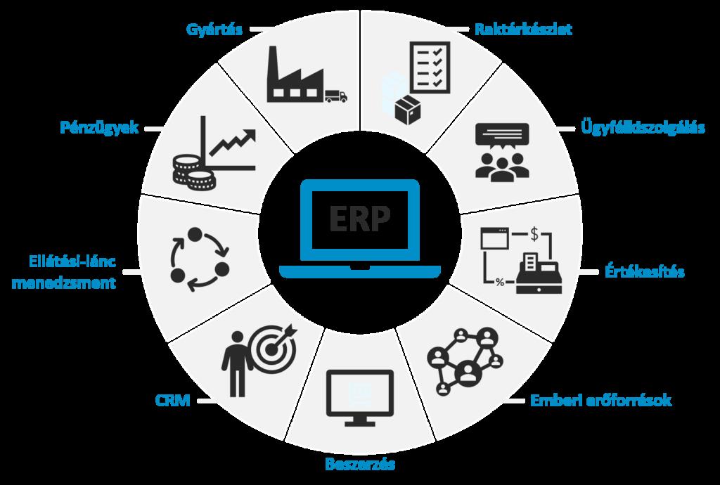 Vállalatirányítási rendszer (ERP) bevezetésének támogatása